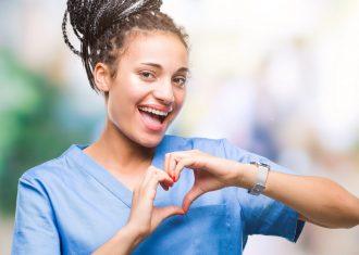Nurse loves her retirement plan